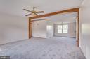 dining room space, also carpeted - 53 CAMP HILL LN, HARPERS FERRY