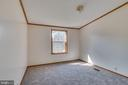 Bedroom 1 features carpet and overhead light - 53 CAMP HILL LN, HARPERS FERRY