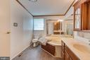 a large soaking tub to enjoy with a glass of wine - 53 CAMP HILL LN, HARPERS FERRY