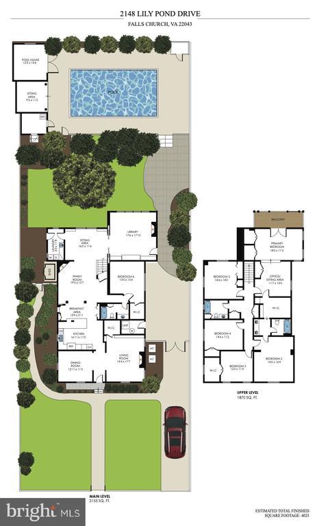 Floor Plan - 2148 LILY POND DR, FALLS CHURCH
