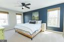 Large primary bedroom - 2 SNOW MEADOW LN, STAFFORD