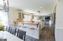 Breakfast bar for casual dining - 2 SNOW MEADOW LN, STAFFORD