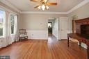 original hardwood floors - 7704 IDYLWOOD RD, FALLS CHURCH