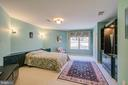 Lower Level Bedroom w/Custom Built-in Furniture - 220 VIERLING DR, SILVER SPRING