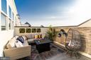 Spacious Rooftop Terrace - 623 SECOND ST, ALEXANDRIA