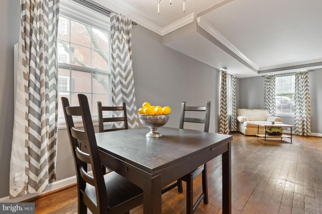 Dining Room off Kitchen - 2941 S DINWIDDIE ST, ARLINGTON