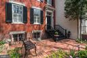 Private Front Terrace and Garden - 3013 P ST NW, WASHINGTON