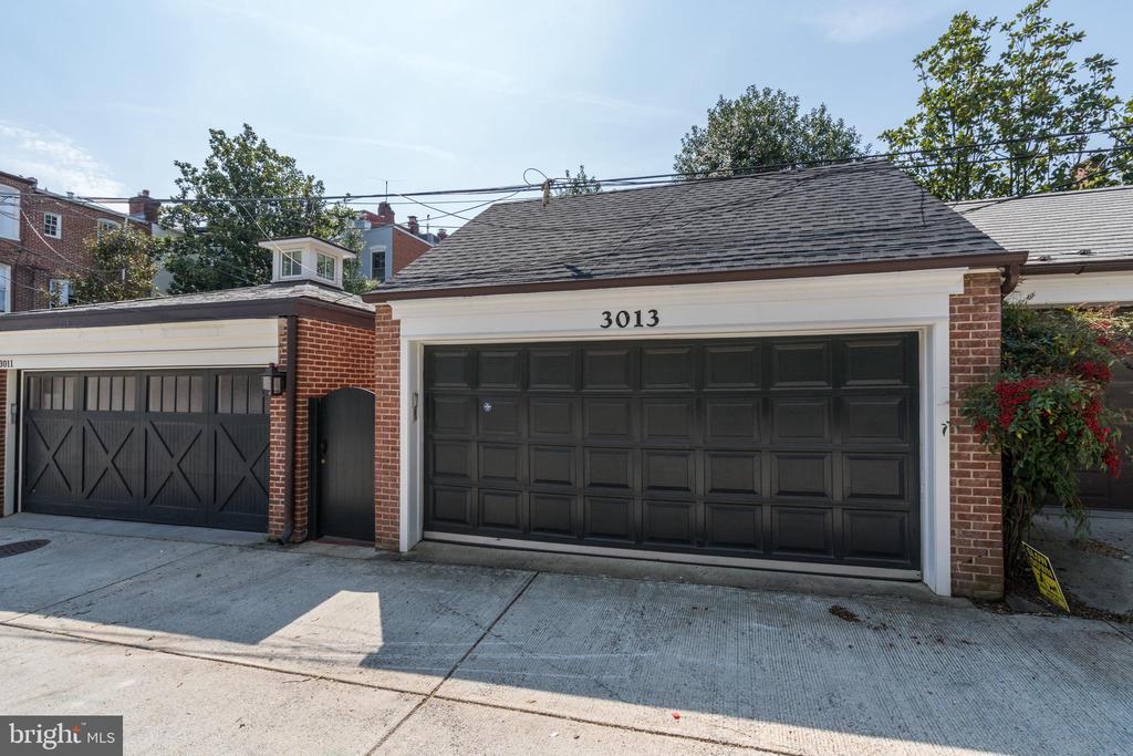 Two-Car Garage - 3013 P ST NW, WASHINGTON