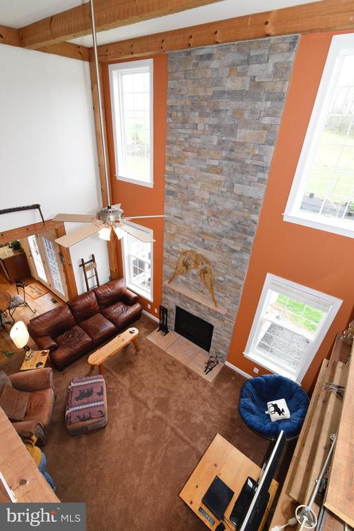 View From Upper Level - 36494 WINDING OAK PL, PURCELLVILLE