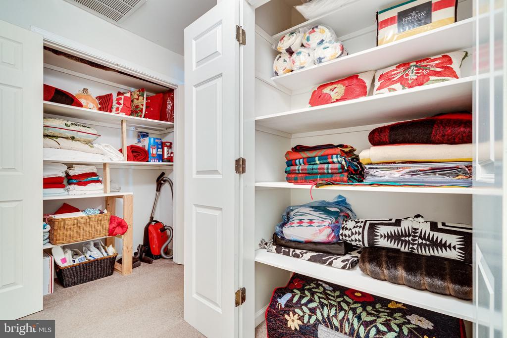 Upper Hall Closets - 2148 LILY POND DR, FALLS CHURCH