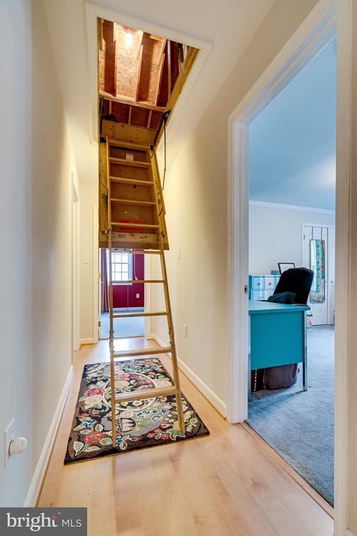 Attic Access - 2148 LILY POND DR, FALLS CHURCH