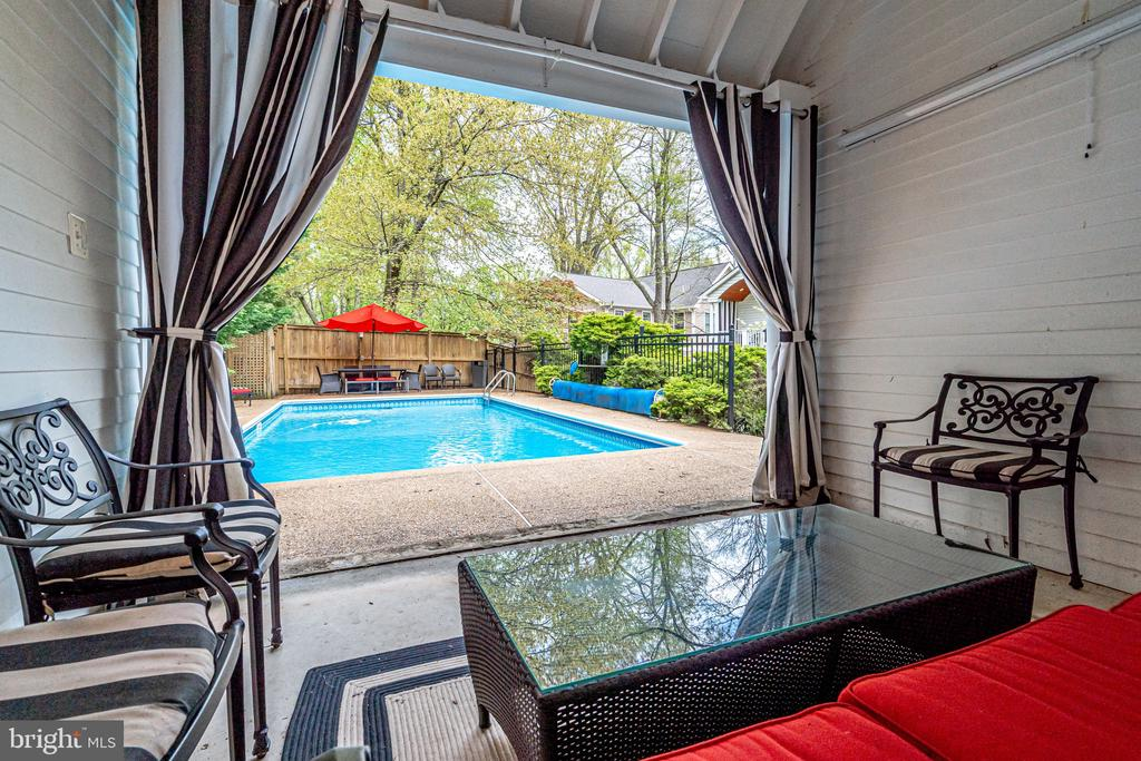 Pool Sitting Area - 2148 LILY POND DR, FALLS CHURCH