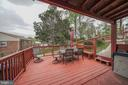SIDE DECK - 11505 VEIRS MILL RD, SILVER SPRING