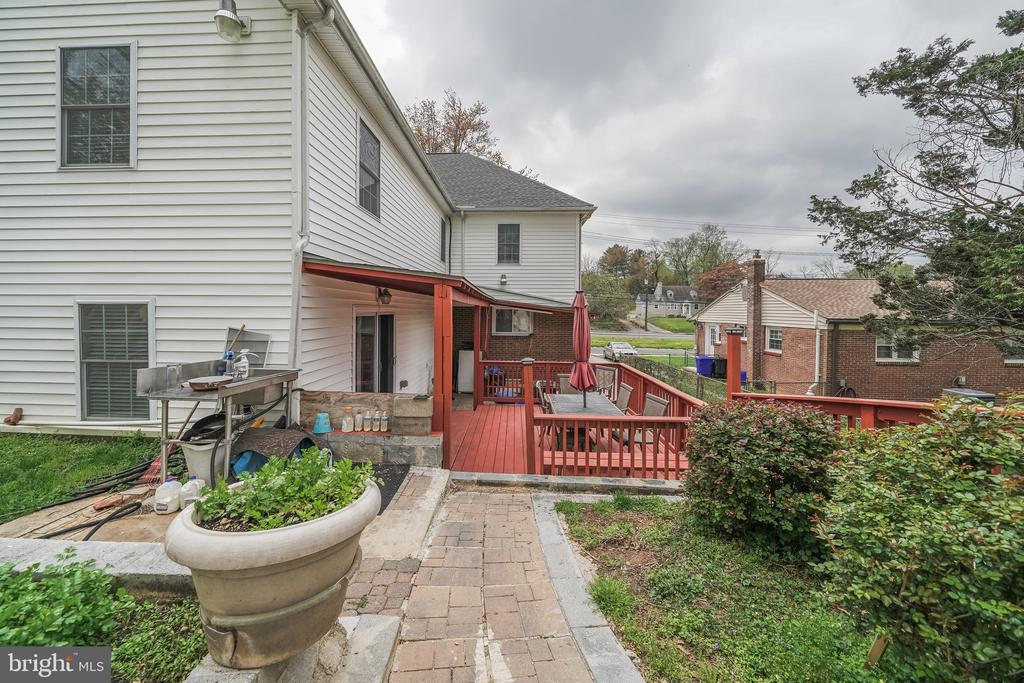 REAR VIEW - 11505 VEIRS MILL RD, SILVER SPRING