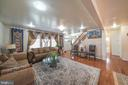 LIVING ROOM - 11505 VEIRS MILL RD, SILVER SPRING
