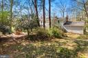 Back Yard - Home Sits on Nearly 1/2 Acre Lot! - 11007 HOWLAND DR, RESTON