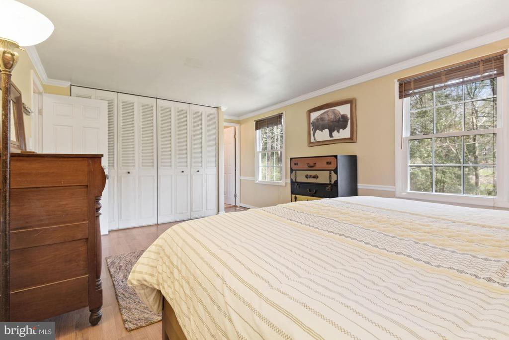 Primary Bedroom - Lovely Windows & Wooded Views! - 11007 HOWLAND DR, RESTON