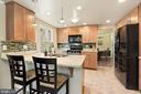 Kitchen - Open Concept, Light, Bright, & Spacious! - 11007 HOWLAND DR, RESTON