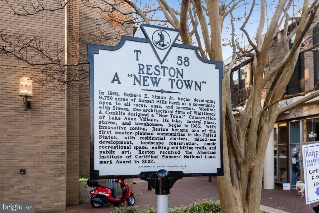 Some History on Reston - 11007 HOWLAND DR, RESTON