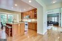 Stainless steel appliances in kitchen - 7945 BOLLING DR, ALEXANDRIA