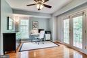 Office or sitting room off the owner's suite - 7945 BOLLING DR, ALEXANDRIA