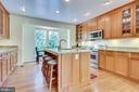 Light-filled with space for table near window - 7945 BOLLING DR, ALEXANDRIA