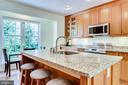 Large kitchen island - 7945 BOLLING DR, ALEXANDRIA