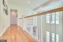 Wood floors throughout 1st & 2nd levels - 7945 BOLLING DR, ALEXANDRIA