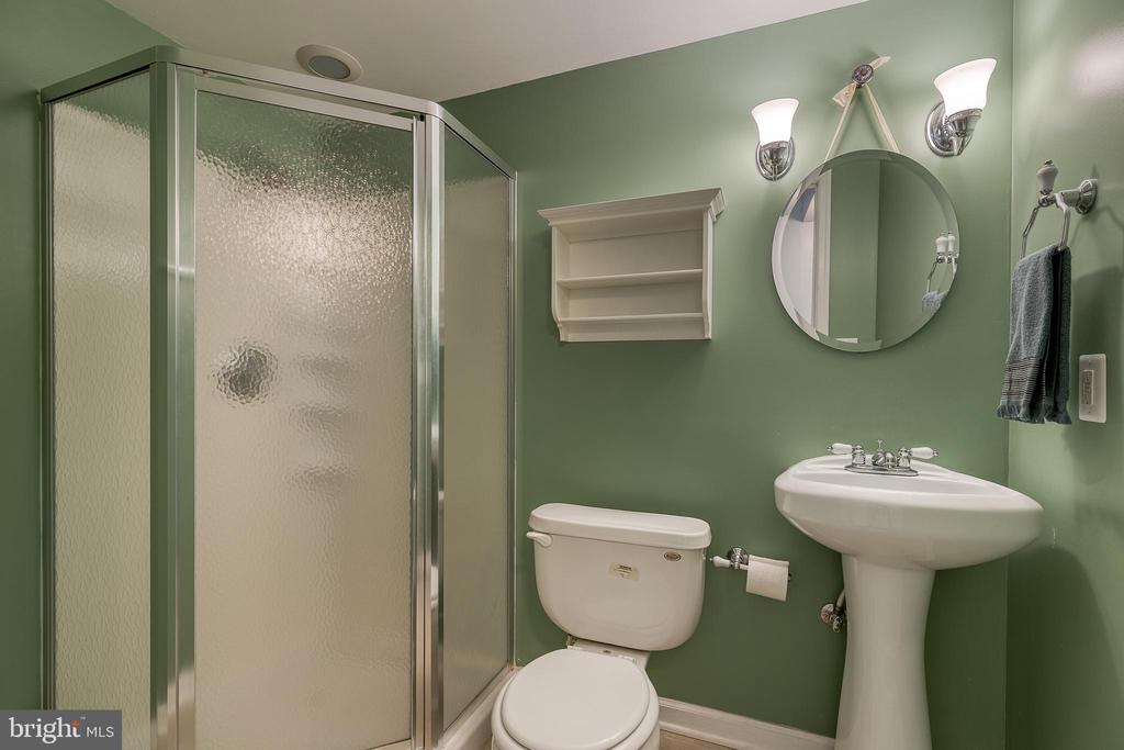 Full bathroom in basement - 6 BEAU RIDGE DR, STAFFORD