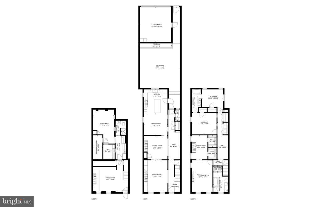 Floor Plan - 3013 P ST NW, WASHINGTON
