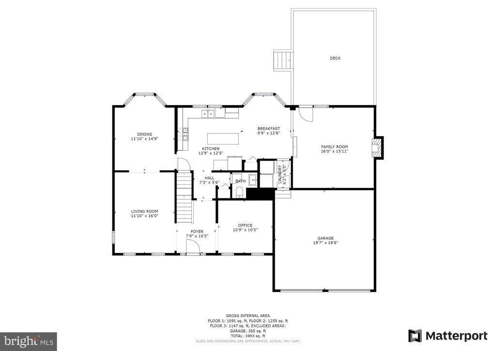 Main floor - 54 CHRISTOPHER WAY, STAFFORD