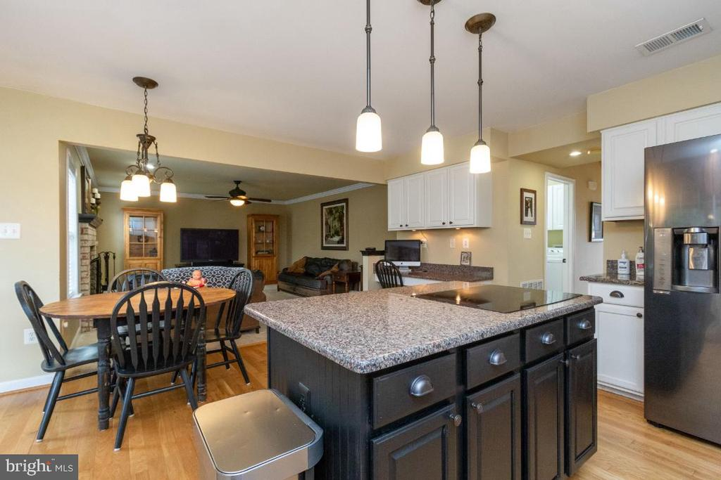 Granite counters and new lighting in kitchen - 706 RANDI DR SE, LEESBURG