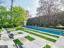 42 foot Pool with Water Feature - 3304 R ST NW, WASHINGTON