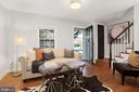 Light-filled living space - 1033 N MONROE ST, ARLINGTON