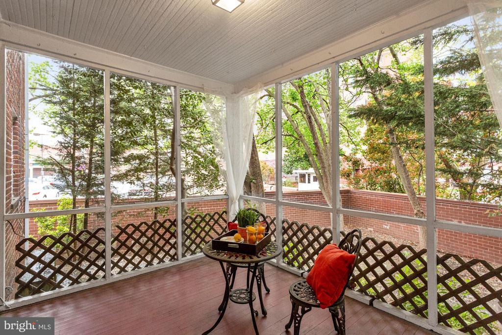 Wonderful outdoor living space - 1033 N MONROE ST, ARLINGTON