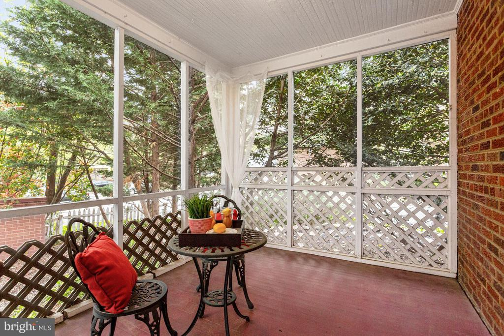 Porch - 1033 N MONROE ST, ARLINGTON