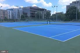 Tennis courts at Quincy Park - 1033 N MONROE ST, ARLINGTON