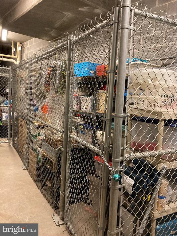 Storage unit in Upper Level Garage by Elevator A - 12001 MARKET ST #201, RESTON