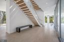 Two Story Floating Stair - 4640 CATHEDRAL AVE NW, WASHINGTON