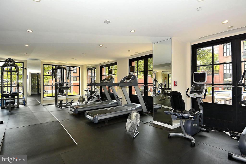 Amenity: Gym - 1615 N QUEEN ST #M204, ARLINGTON