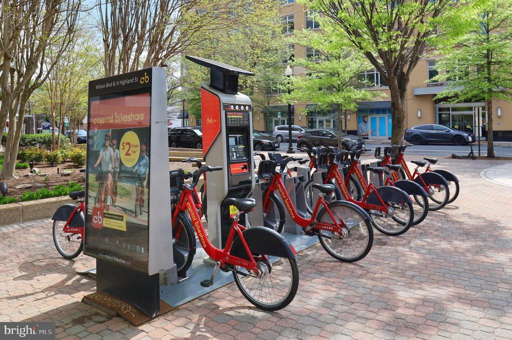 Capital Bikeshare (across the street) - 1200 N HARTFORD ST #502, ARLINGTON
