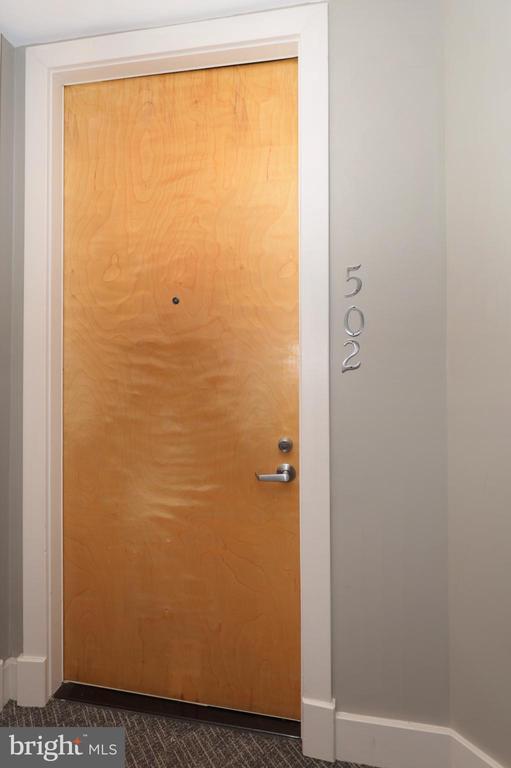 Condo 502 Entrance (next to elevators) - 1200 N HARTFORD ST #502, ARLINGTON
