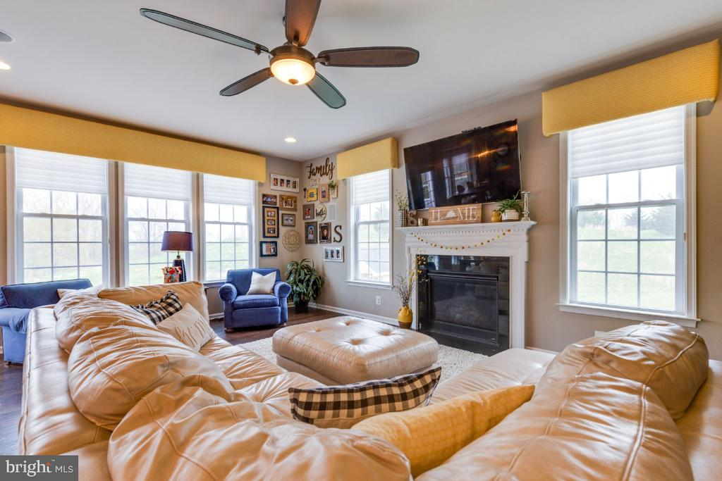 Family Room with Plenty of Windows & Natural Light - 24215 CRABTREE CT, ALDIE