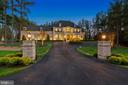 Dramatic Landscaping Lighting on Exterior - 22608 CREIGHTON FARMS DR, LEESBURG