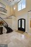 Two  Story Foyer with 'Four Seasons' Statues - 22608 CREIGHTON FARMS DR, LEESBURG