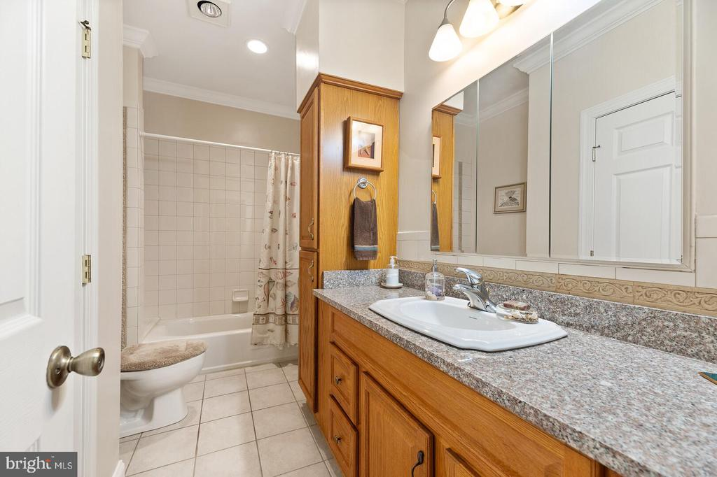Full Bathroom on Main Level - 525 NELSON DR NE, VIENNA