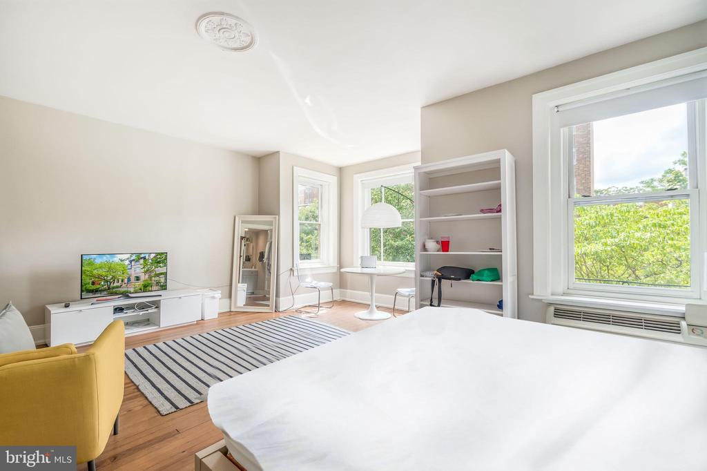 Unit 3 with a lovely bay window - 1723 19TH ST NW, WASHINGTON
