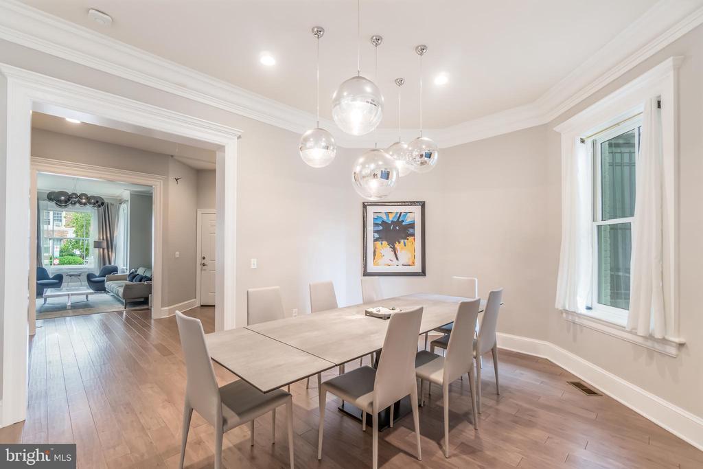 Dining room, Unit 1 - 1723 19TH ST NW, WASHINGTON