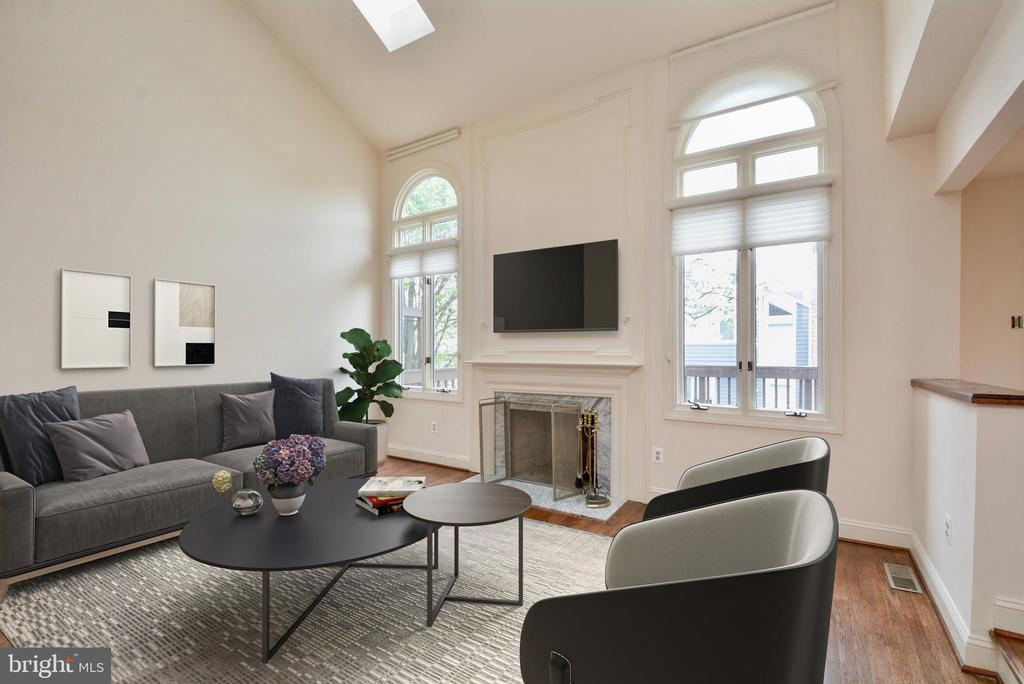 Living Room - 10526 MEREWORTH LN, OAKTON