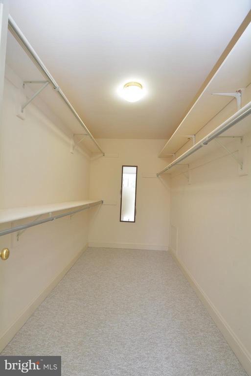 Master Bedroom  Closet - 10526 MEREWORTH LN, OAKTON